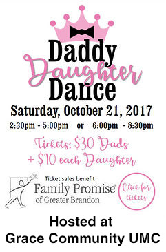 Daddy Daughter Dance at Grace Community UMC