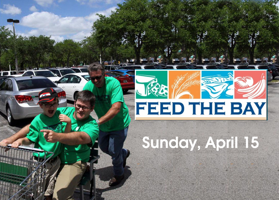 Feed The Bay Sunday April 15, 2018. Providing Food to shelters throughout Tampa Bay