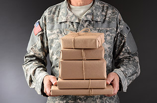Military Mail Mission Postage