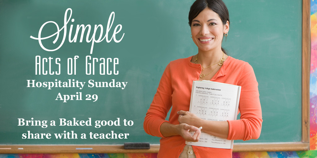 treats for teachers simple acts of grace