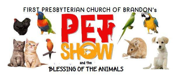 First Presbyterian Pet Show and Blessing of the Animals