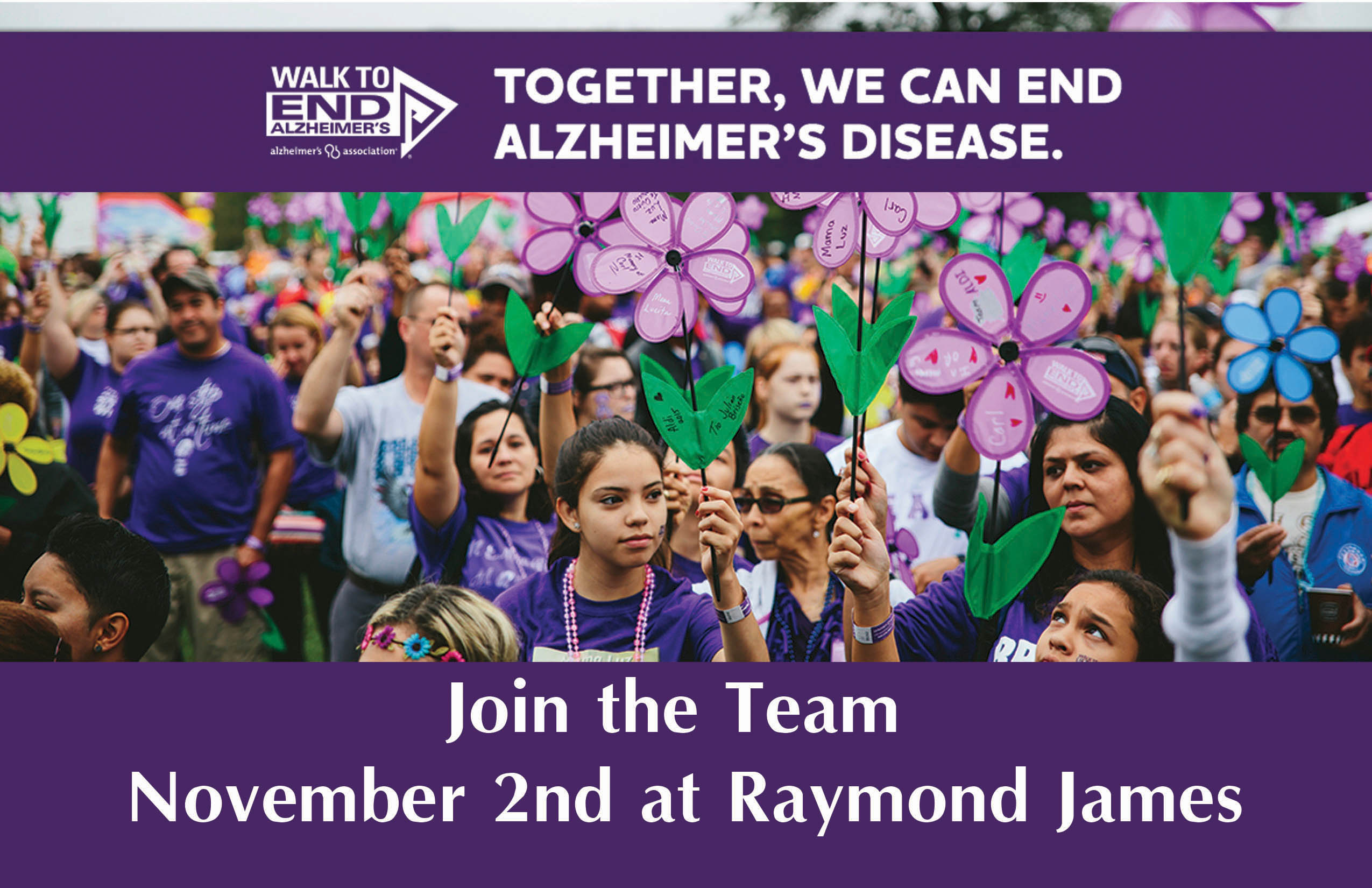 Walk To End Alzheimer's Tampa FL FPCB team