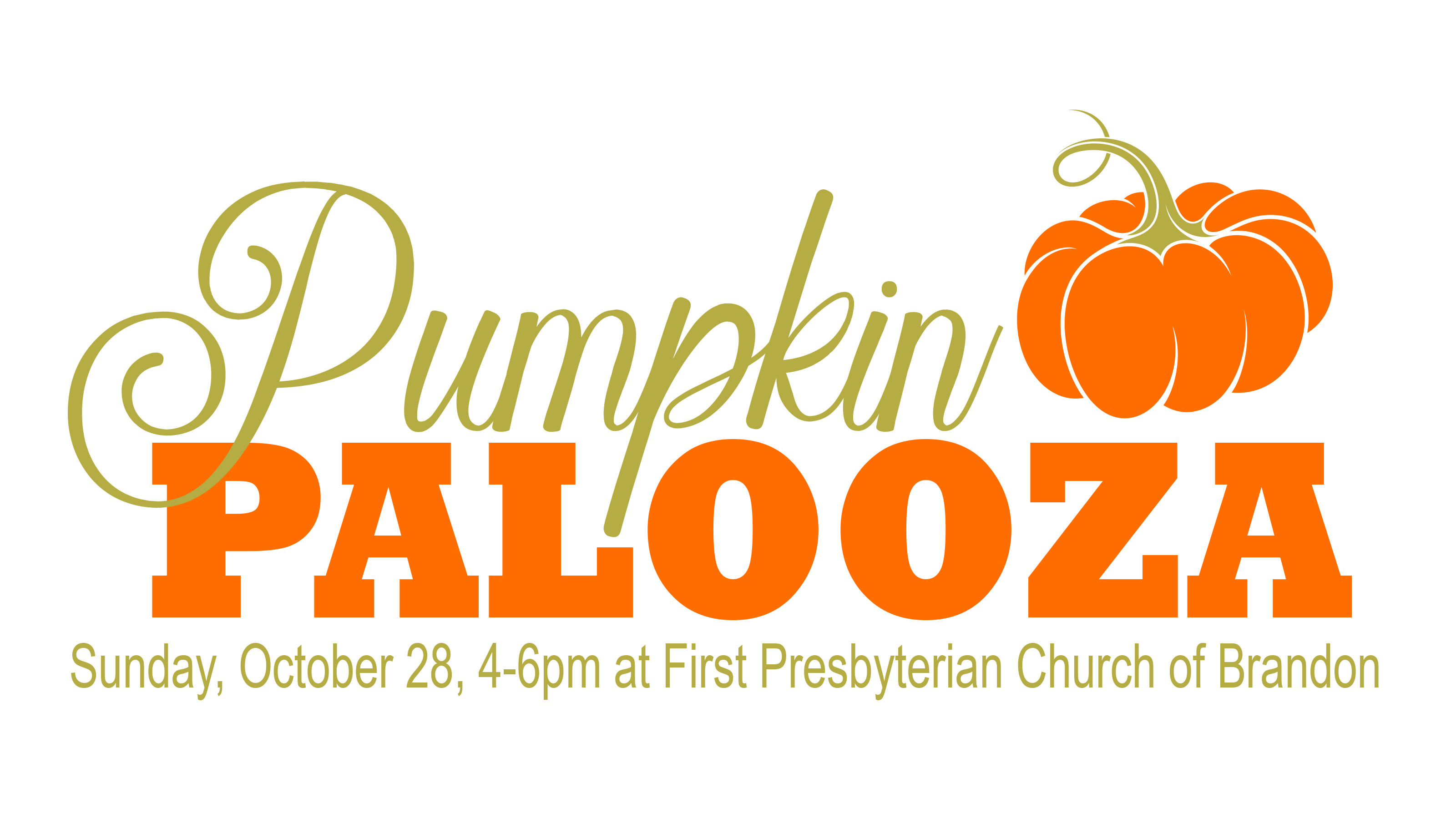 First Presbyterian Church of Brandon Pumpkin Palooza, Pumkin Pie Contest, Trunk or Treat, Carnival Games, Fun for the whole family in Brandon Florida