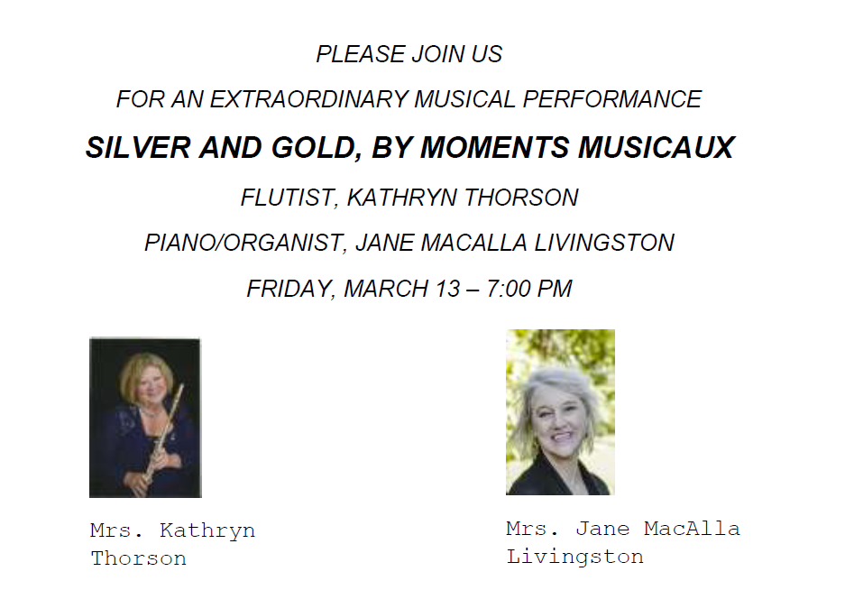 moments-musicaux concert Friday March 13 7pm 2020